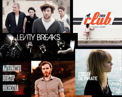 Will Driving West This Club Levity Breaks Alternative Dubstep Orchestra James Vincent McMorrow Coeur de Pirate